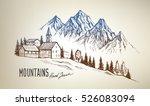hand drawn vector illustration...   Shutterstock .eps vector #526083094