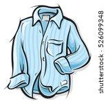 dress shirt | Shutterstock .eps vector #526099348