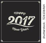 2017   calligraphic new year... | Shutterstock .eps vector #526106464