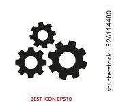 gear  technology  vector icon ...   Shutterstock .eps vector #526114480