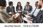 business people discussion... | Shutterstock . vector #526117648