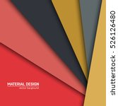 vector material design... | Shutterstock .eps vector #526126480