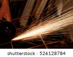a man working with electric... | Shutterstock . vector #526128784