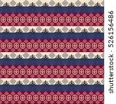 ethnic seamless pattern | Shutterstock . vector #526156486