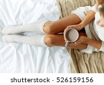 morning  coziness  winter and... | Shutterstock . vector #526159156