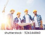 business  building  teamwork... | Shutterstock . vector #526166860