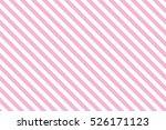 Pink Stripes On White...