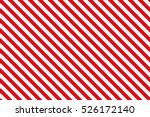 red stripes on white background.... | Shutterstock .eps vector #526172140