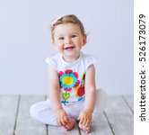 Beautiful Baby Girl Smiling...