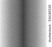 halftone gradient lines black... | Shutterstock .eps vector #526185220