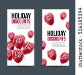 market business sale concept.... | Shutterstock .eps vector #526185394