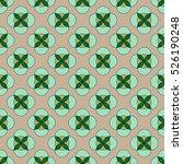 flower seamless pattern.... | Shutterstock .eps vector #526190248
