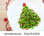 Kiwi Christmas Tree   Fun Food...