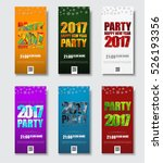 template flyer for christmas...   Shutterstock .eps vector #526193356