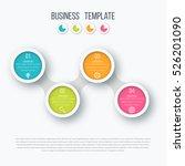 infographics timeline template... | Shutterstock .eps vector #526201090
