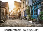 panoramic view of a charming... | Shutterstock . vector #526228084