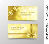 christmas card template for... | Shutterstock .eps vector #526233664