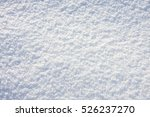 white snow texture background | Shutterstock . vector #526237270