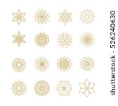 Vector Icons Set Of 16 Element...