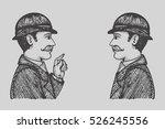 vector illustration of vintage... | Shutterstock .eps vector #526245556