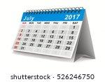 2017 Year Calendar. July....