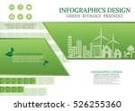 ecology connection  concept... | Shutterstock .eps vector #526255360