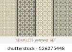 seamless geometric line... | Shutterstock .eps vector #526275448