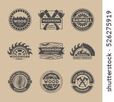 forest product vintage isolated ...   Shutterstock .eps vector #526275919