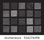 hand drawn textures and brushes.... | Shutterstock .eps vector #526276498