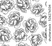 vintage seamless pattern with... | Shutterstock .eps vector #526276534