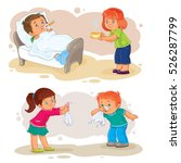 set of vector clip art... | Shutterstock .eps vector #526287799