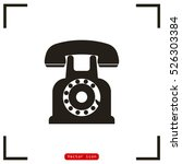 phone icon vector illustration | Shutterstock .eps vector #526303384