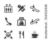 information signs icons for... | Shutterstock .eps vector #526310338
