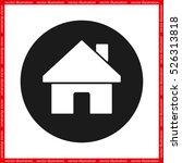 house icon vector illustration...   Shutterstock .eps vector #526313818
