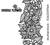 pattern for coloring book.... | Shutterstock .eps vector #526335964