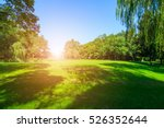 woods and lakes | Shutterstock . vector #526352644