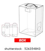 box with handle | Shutterstock .eps vector #526354843