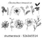 vector floral design elements... | Shutterstock .eps vector #526365514