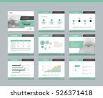 page layout design template for ... | Shutterstock .eps vector #526371418