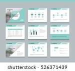 page layout design template for ... | Shutterstock .eps vector #526371439