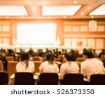 blur audience in hall or... | Shutterstock . vector #526373350