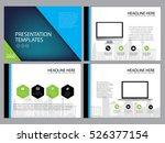 business template design set...   Shutterstock .eps vector #526377154