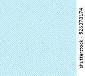 pattern stripe seamless sweet... | Shutterstock .eps vector #526378174