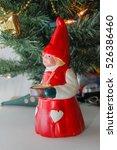 Small photo of Christmas Decoration, Mrs Santa