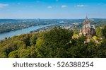 view of the drachenburg castle... | Shutterstock . vector #526388254