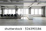 office  reception design modern ... | Shutterstock . vector #526390186