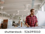 shot of young businessman in... | Shutterstock . vector #526395010