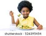 close up portrait of cute... | Shutterstock . vector #526395454