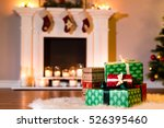 A Pile Of New Year Gifts In A...