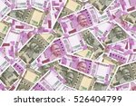 new indian currency rupees five ...   Shutterstock . vector #526404799